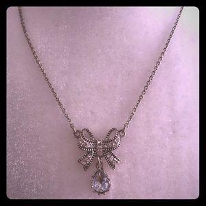 Avon Embellished Bow Necklace